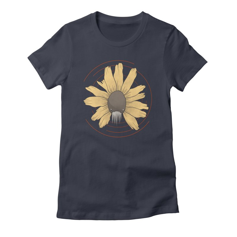 All the flowers Women's Fitted T-Shirt by MEECH
