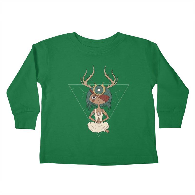 Warden Kids Toddler Longsleeve T-Shirt by MEECH
