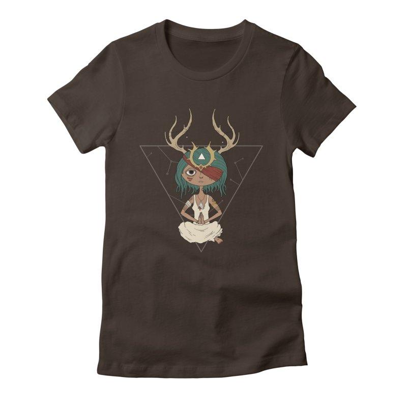 Warden Women's Fitted T-Shirt by MEECH