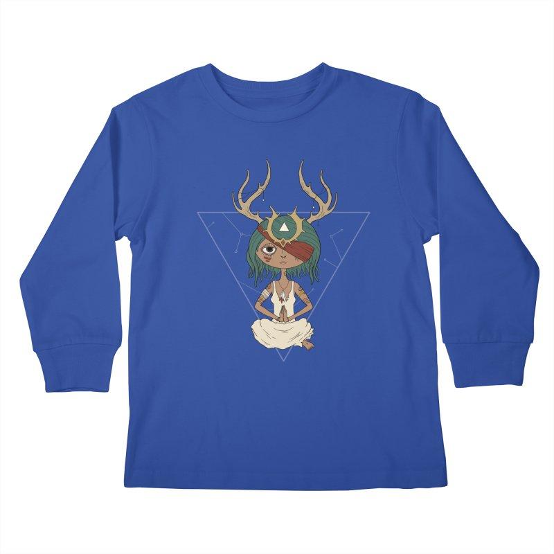 Warden Kids Longsleeve T-Shirt by MEECH