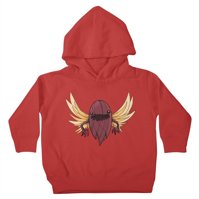 Haunted Kids Toddler Pullover Hoody by MEECH
