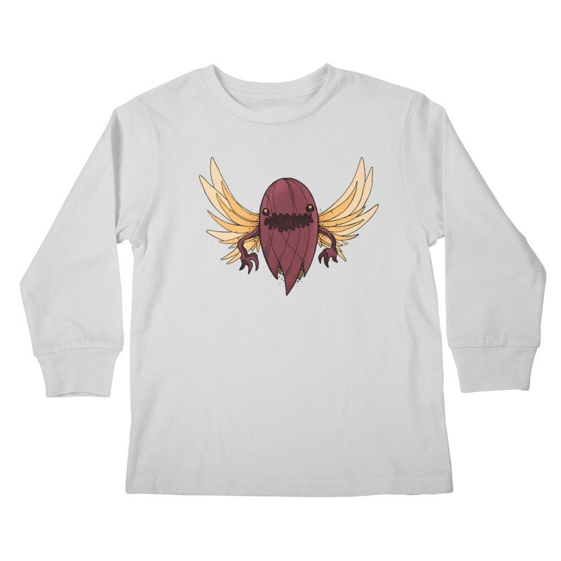Haunted Kids Longsleeve T-Shirt by MEECH