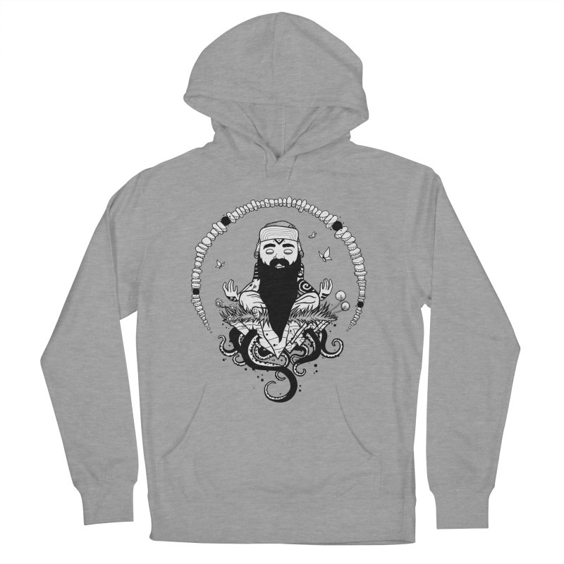 Art of Balance in Men's Pullover Hoody Heather Graphite by MEECH