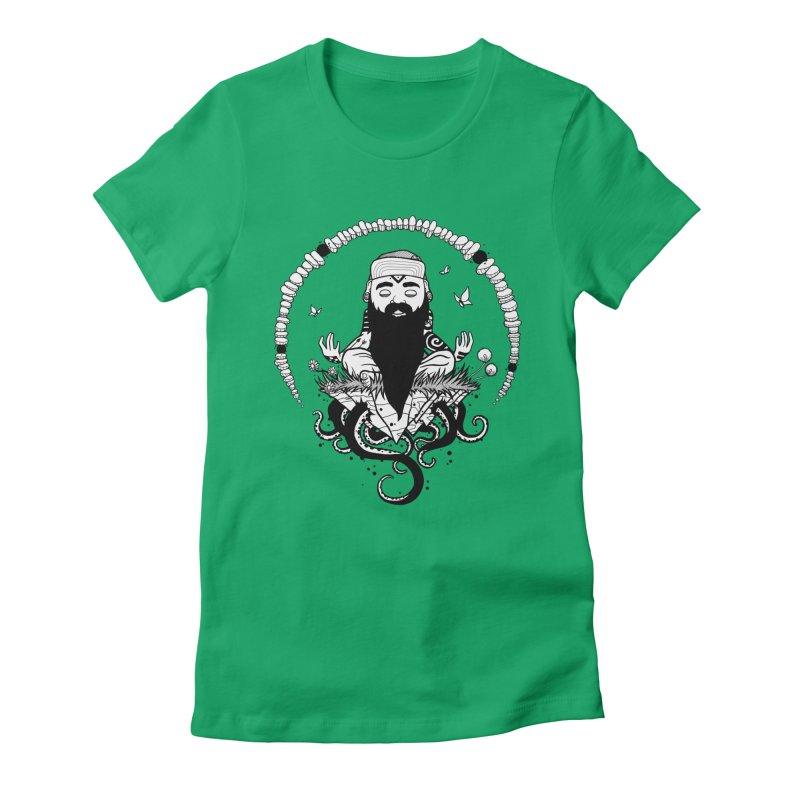 Art of Balance Women's Fitted T-Shirt by MEECH
