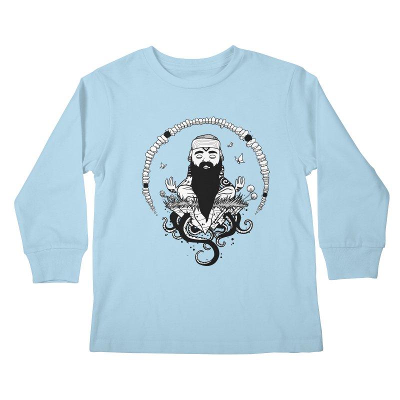 Art of Balance Kids Longsleeve T-Shirt by MEECH
