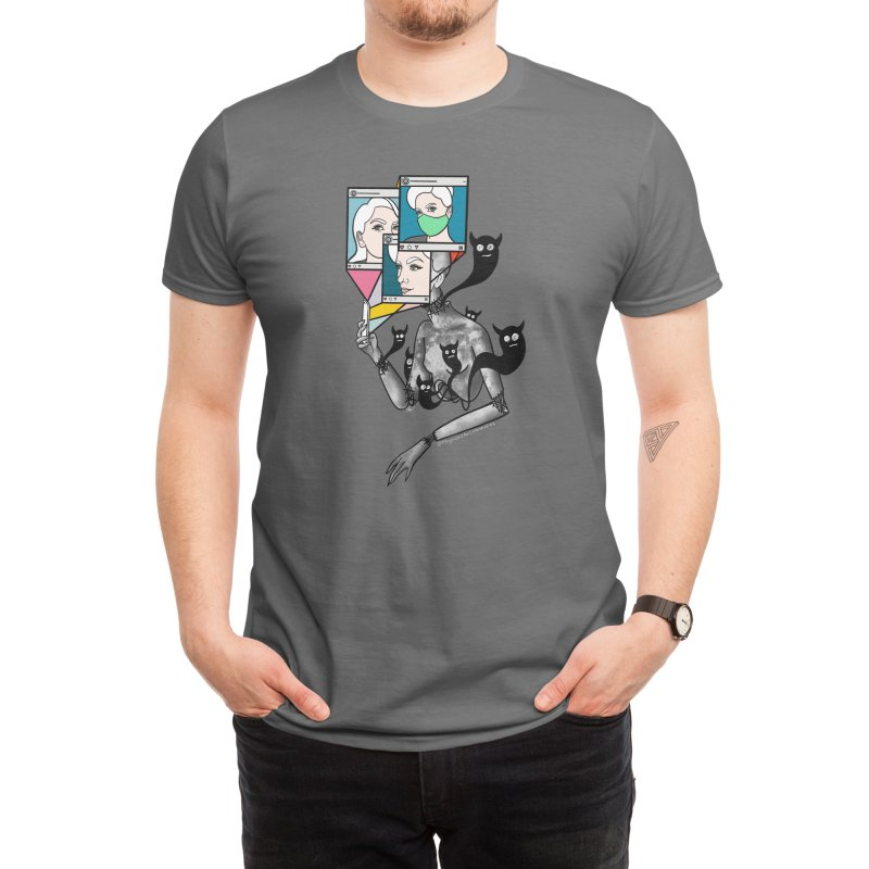 You See What I Want You To See Men's T-Shirt by Meghan's Art Memories