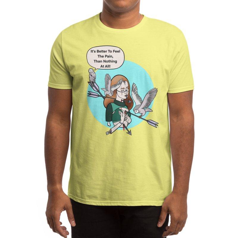 Better to Feel Men's T-Shirt by Meghan's Art Memories