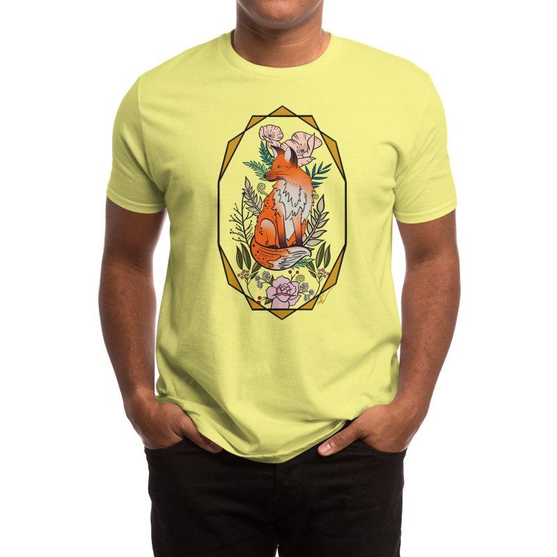 Fox Men's T-Shirt by Meghan's Art Memories