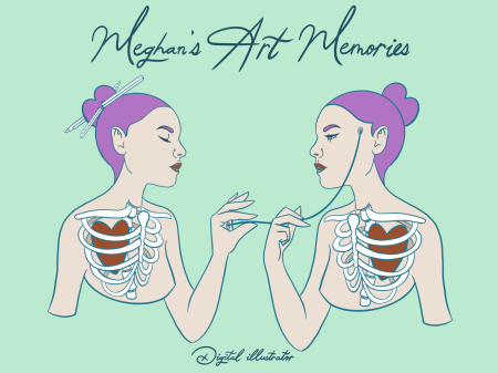Logo for Meghan's Art Memories