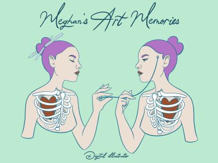 Logo for Meghan's Art Memories
