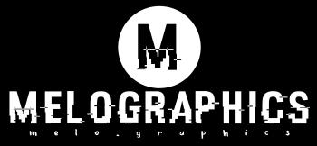 MELOGRAPHICS Logo