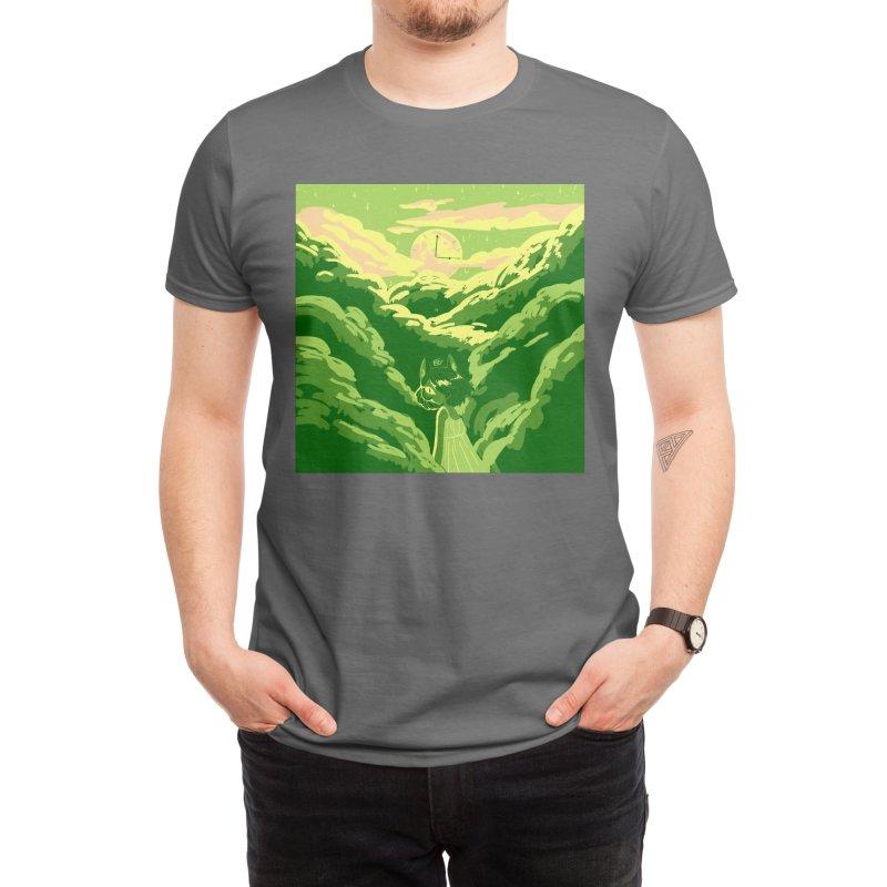 ESREVER Men's T-Shirt by Melondots Wares
