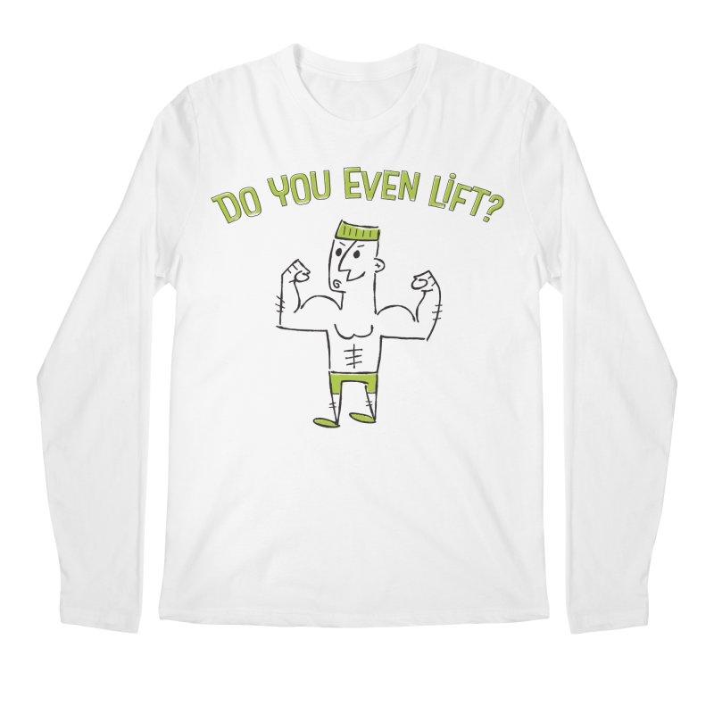Lift Men's Longsleeve T-Shirt by MEMOS
