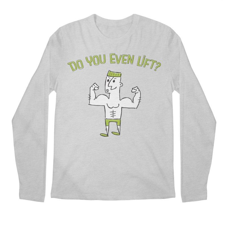 Lift Men's Longsleeve T-Shirt by ME&MO Design