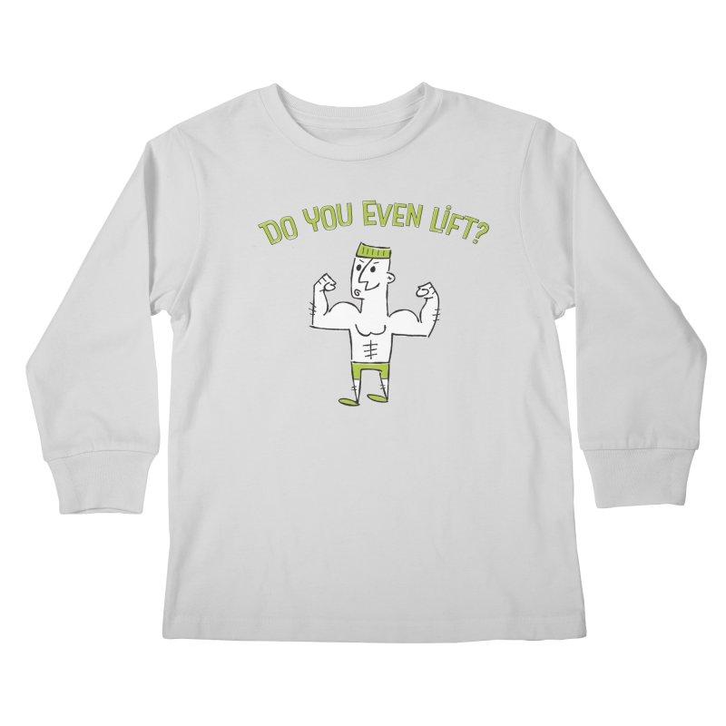 Lift Kids Longsleeve T-Shirt by MEMOS