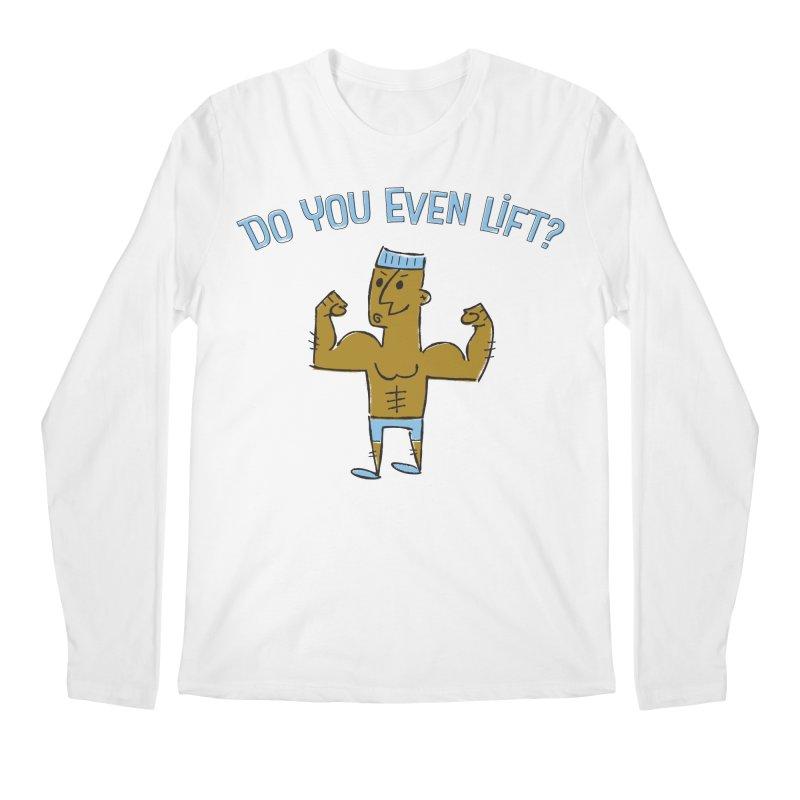 Lift Alternate Men's Longsleeve T-Shirt by ME&MO Design