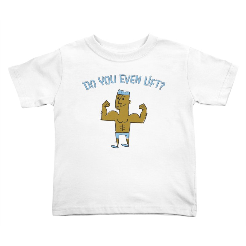 Lift Alternate Kids Toddler T-Shirt by MEMOS