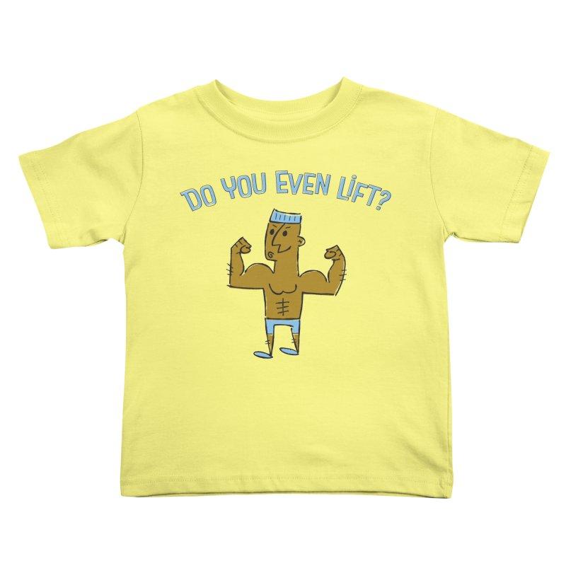 Lift Alternate Kids Toddler T-Shirt by MEMOS
