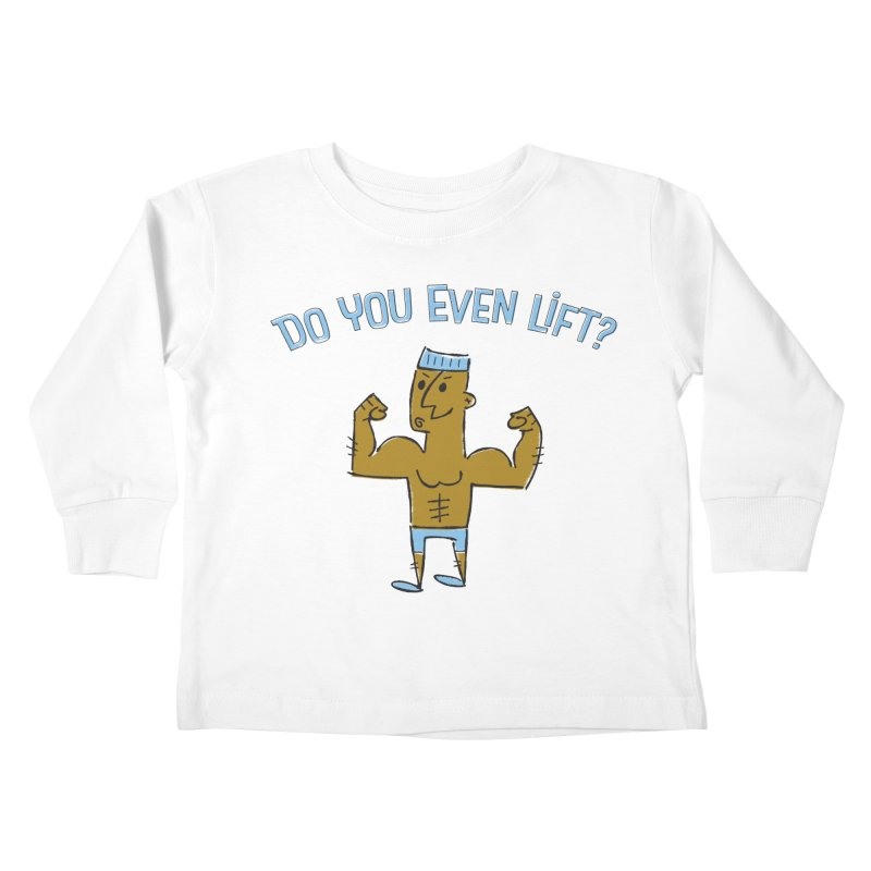 Lift Alternate Kids Toddler Longsleeve T-Shirt by MEMOS