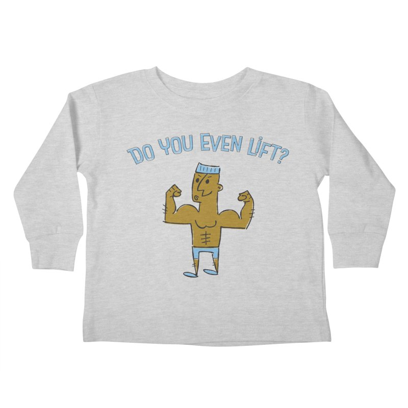 Lift Alternate Kids Toddler Longsleeve T-Shirt by ME&MO Design