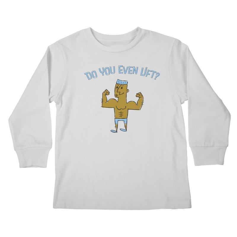 Lift Alternate Kids Longsleeve T-Shirt by MEMOS