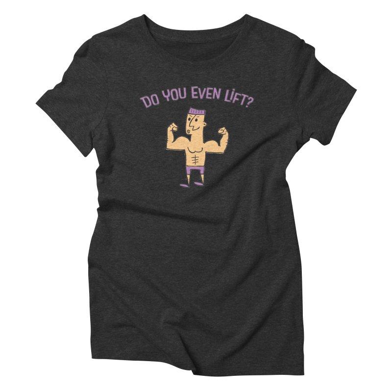 Lift Alt V2 Women's Triblend T-shirt by MEMOS