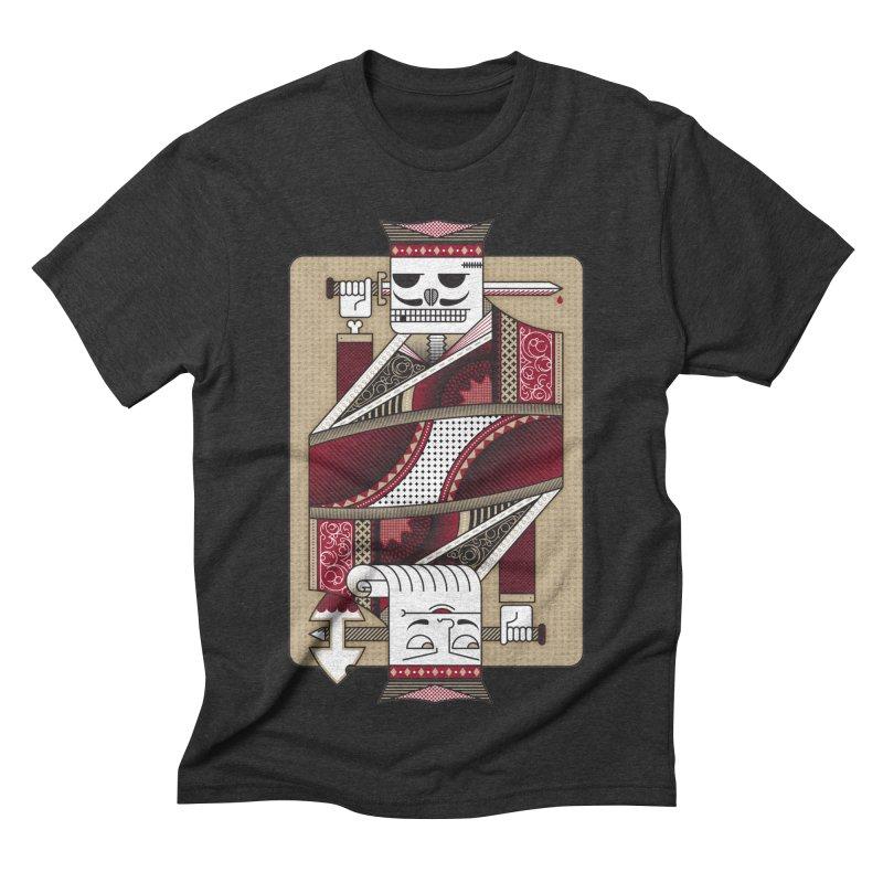 King Men's Triblend T-shirt by MEMOS