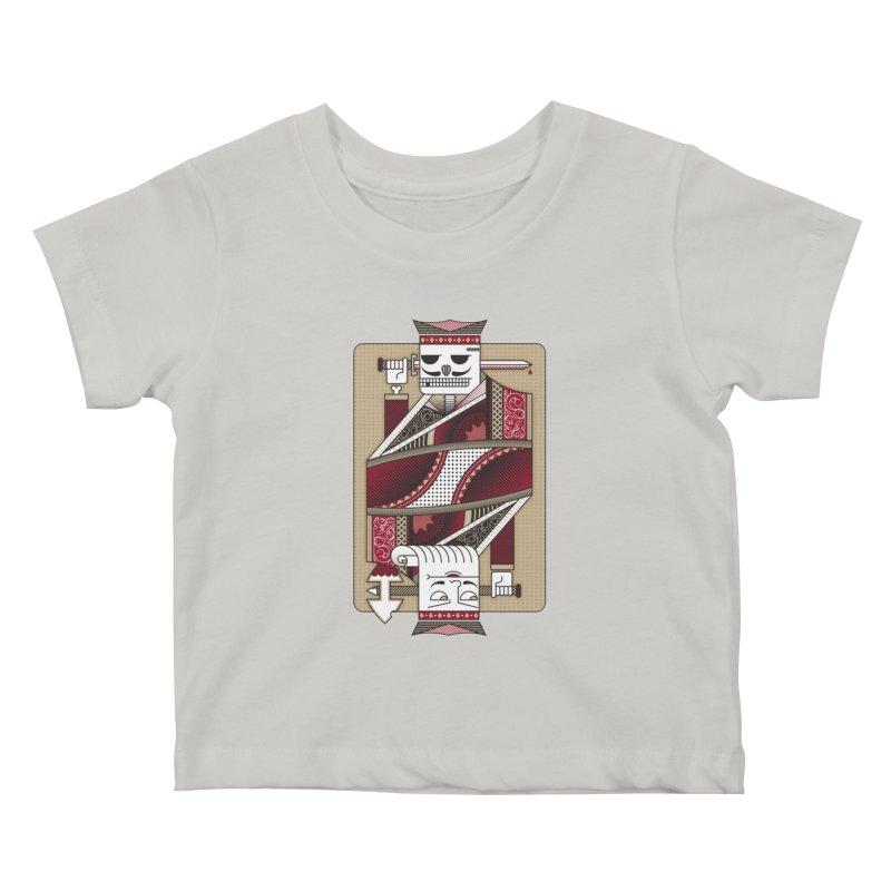 King Kids Baby T-Shirt by MEMOS