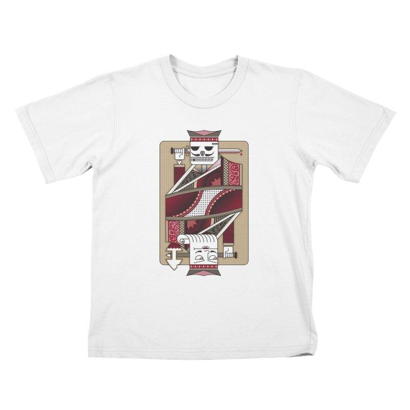 King Kids T-shirt by MEMOS