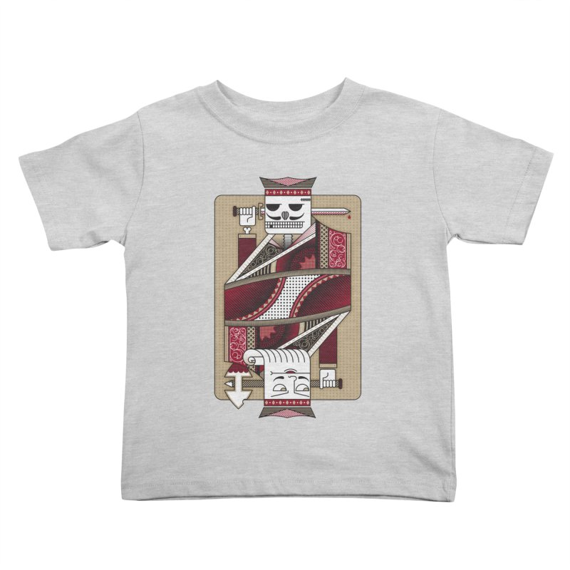 King Kids Toddler T-Shirt by MEMOS