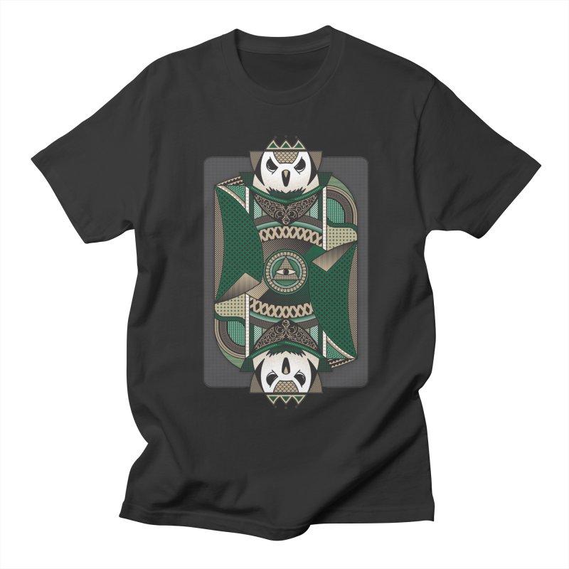 Owl Men's T-shirt by MEMOS
