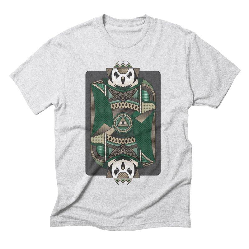Owl Men's Triblend T-Shirt by ME&MO Design