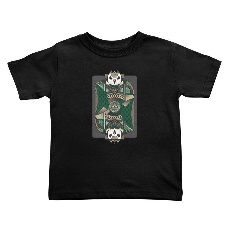 Owl Kids Toddler T-Shirt by MEMOS