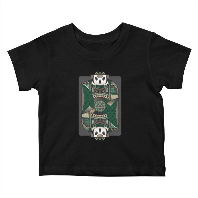 Owl Kids Baby T-Shirt by MEMOS