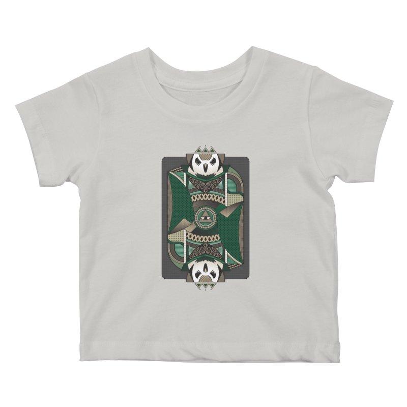 Owl Kids Baby T-Shirt by MEMOS