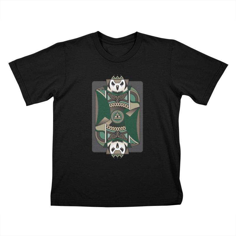 Owl Kids T-shirt by MEMOS
