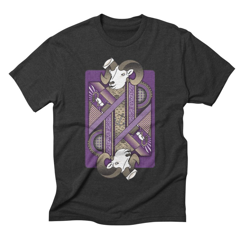 Ram Men's Triblend T-Shirt by ME&MO Design