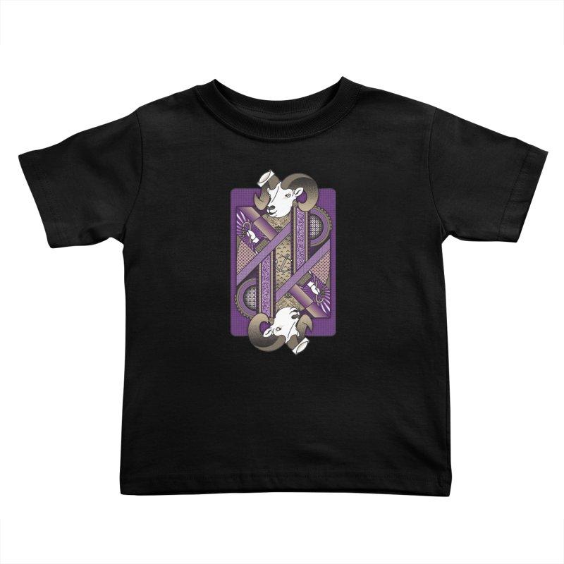 Ram Kids Toddler T-Shirt by ME&MO Design