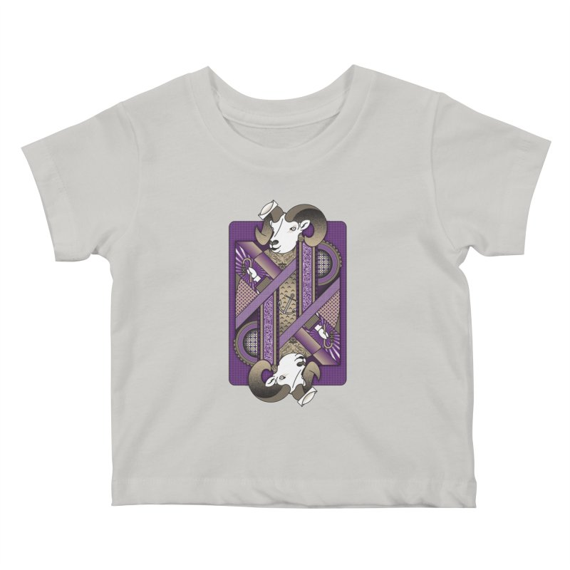 Ram Kids Baby T-Shirt by MEMOS