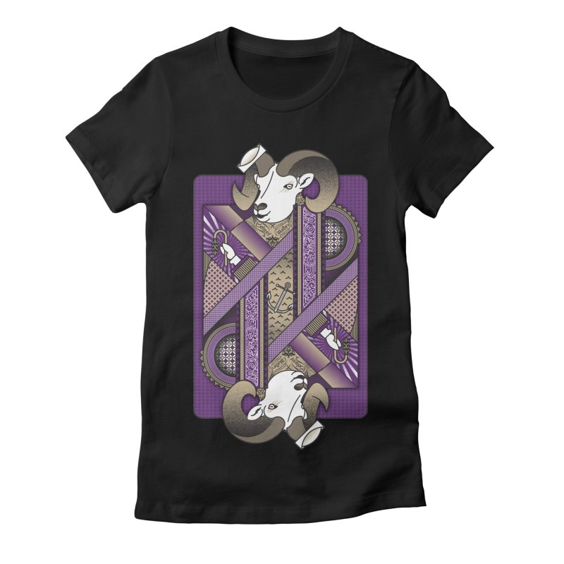 Ram Women's Fitted T-Shirt by ME&MO Design