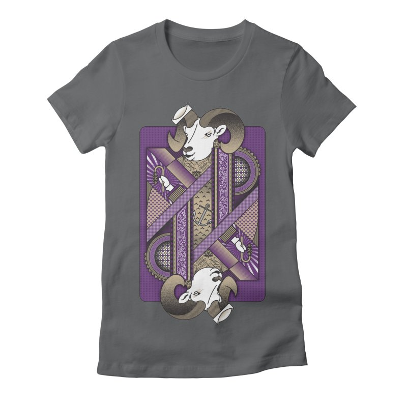 Ram Women's Fitted T-Shirt by MEMOS