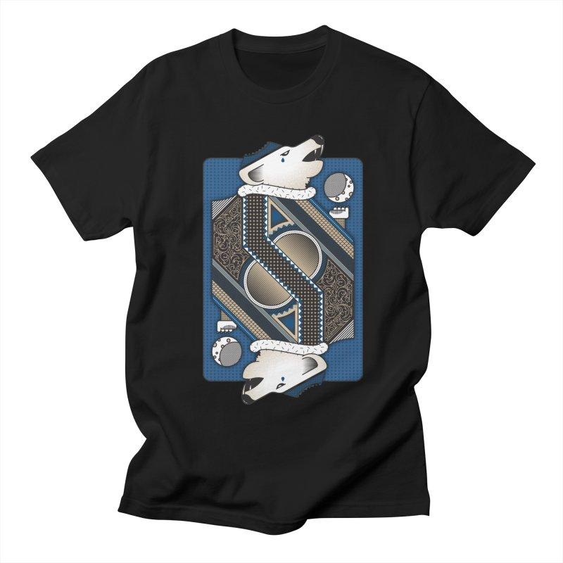 Wolf Women's Unisex T-Shirt by ME&MO Design