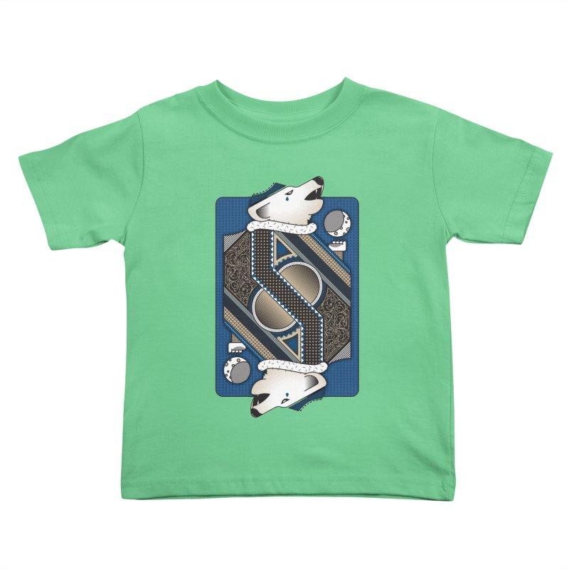 Wolf Kids Toddler T-Shirt by ME&MO Design