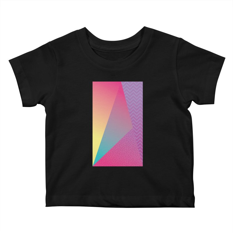 What the Wow Kids Baby T-Shirt by MEMOS