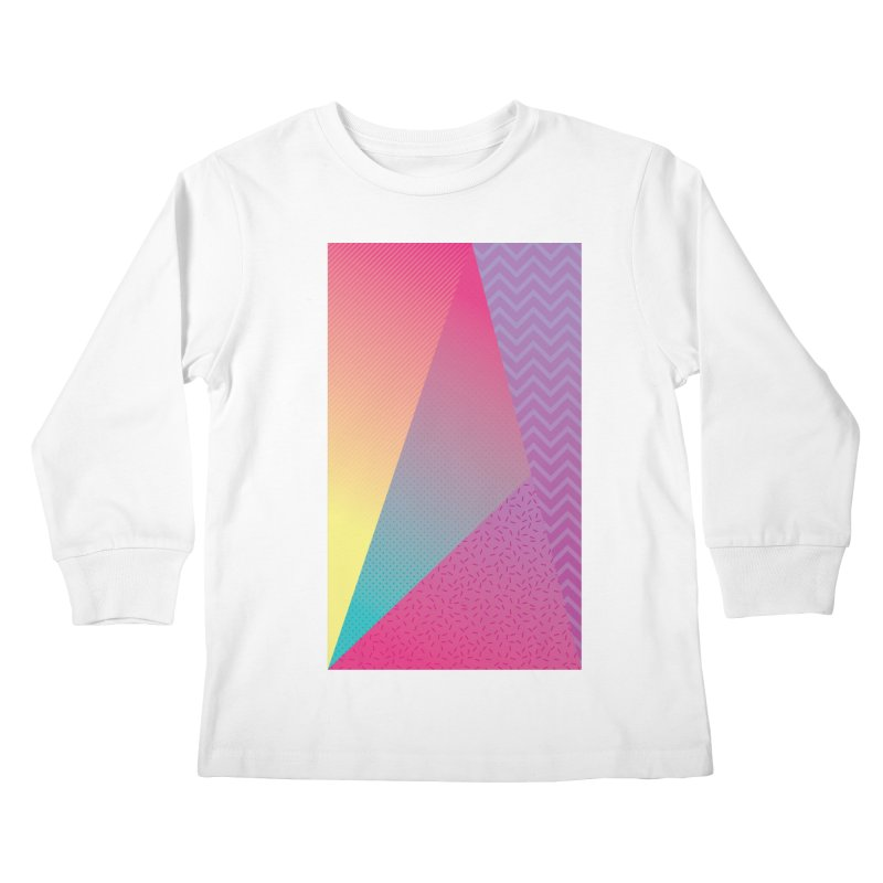 What the Wow Kids Longsleeve T-Shirt by MEMOS