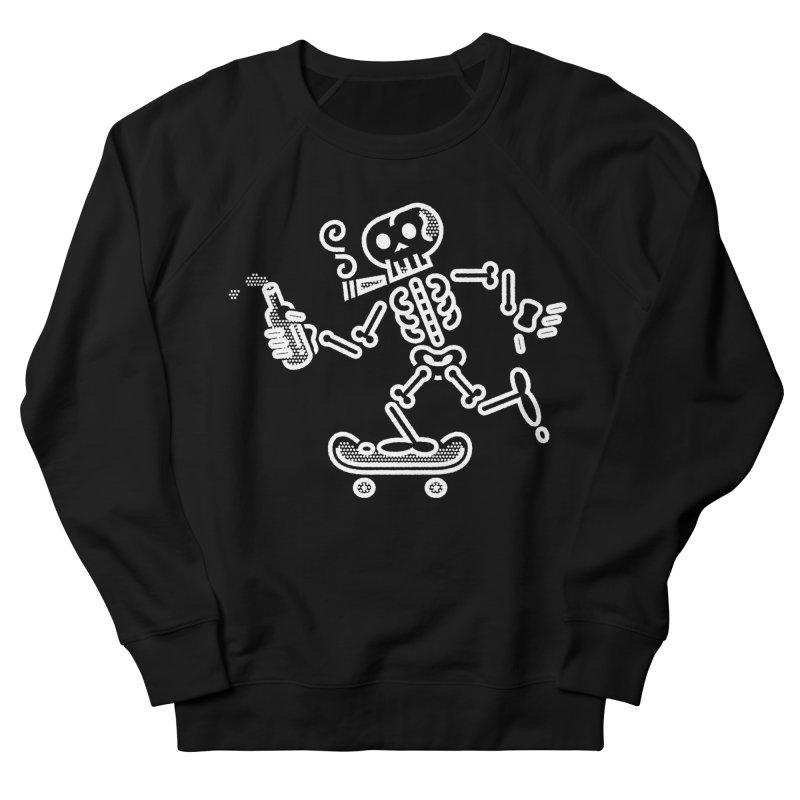 Skelly White Men's Sweatshirt by ME&MO Design