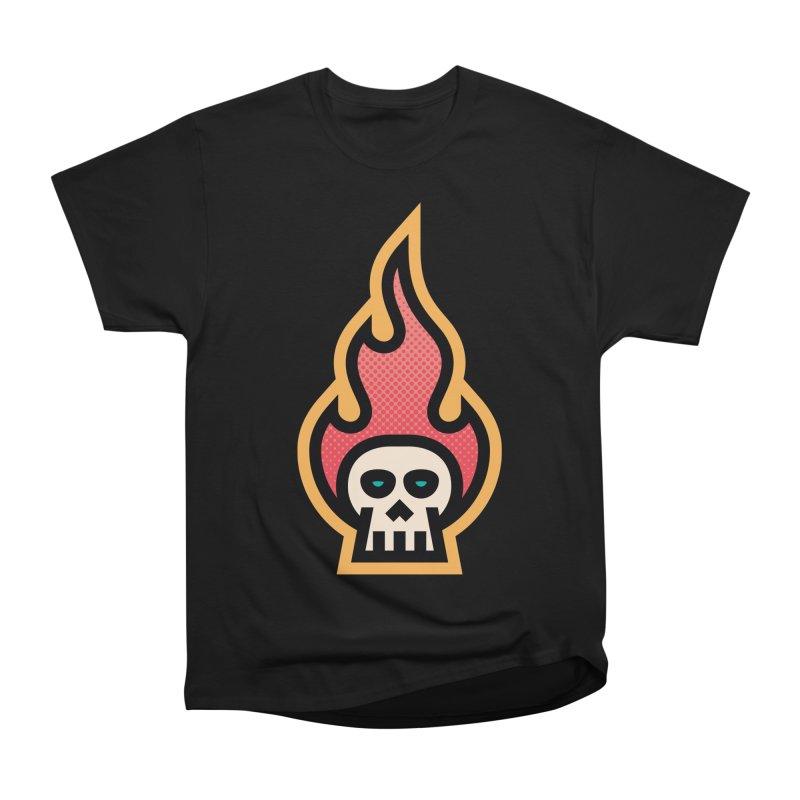 Me&Mo Avatar Skull Flame Men's Classic T-Shirt by ME&MO Design