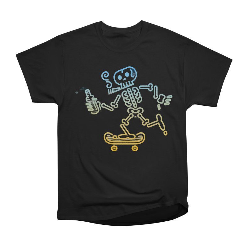 Skelly Blue Orange Men's Classic T-Shirt by ME&MO Design