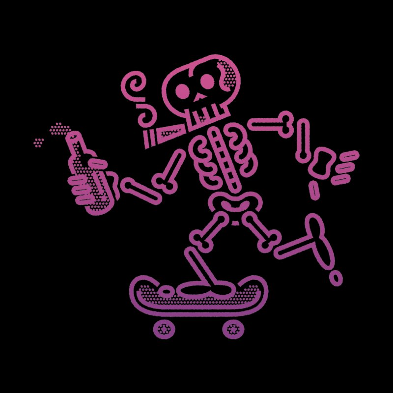 Skelly Pink Purple by ME&MO Design