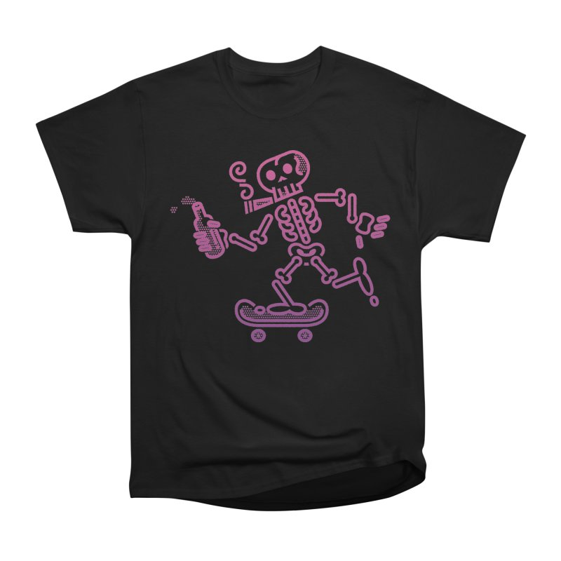 Skelly Pink Purple Men's Classic T-Shirt by ME&MO Design
